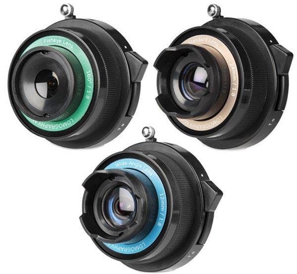 Lomography анонсирует набор объективов Experimental Lens Kit для камер системы Micro Four Thirds