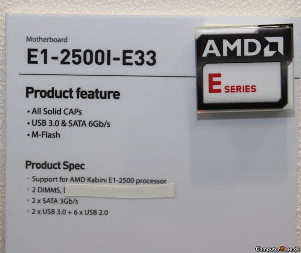 MSI E1-2500I-E33, характеристики