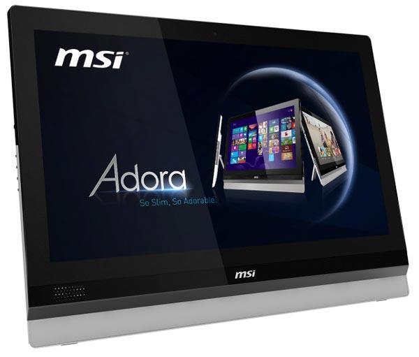 MSI переводит моноблочные ПК Adora24 на процессоры Haswell