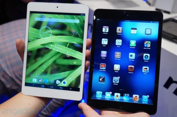 MSI Primo 81 в сравнении с iPad mini