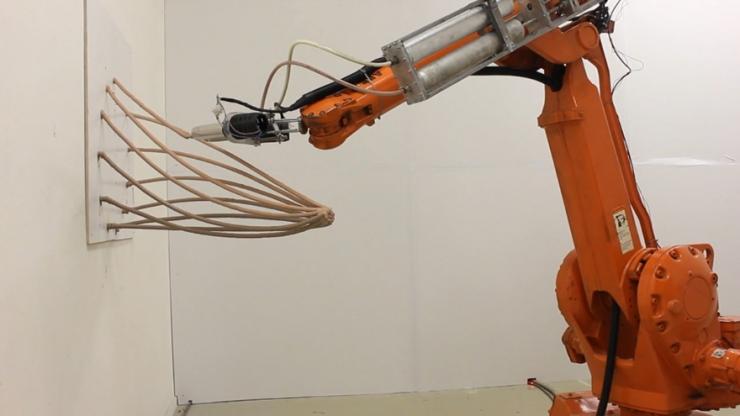 Mataerial: 3D принтер, который печатает на весу