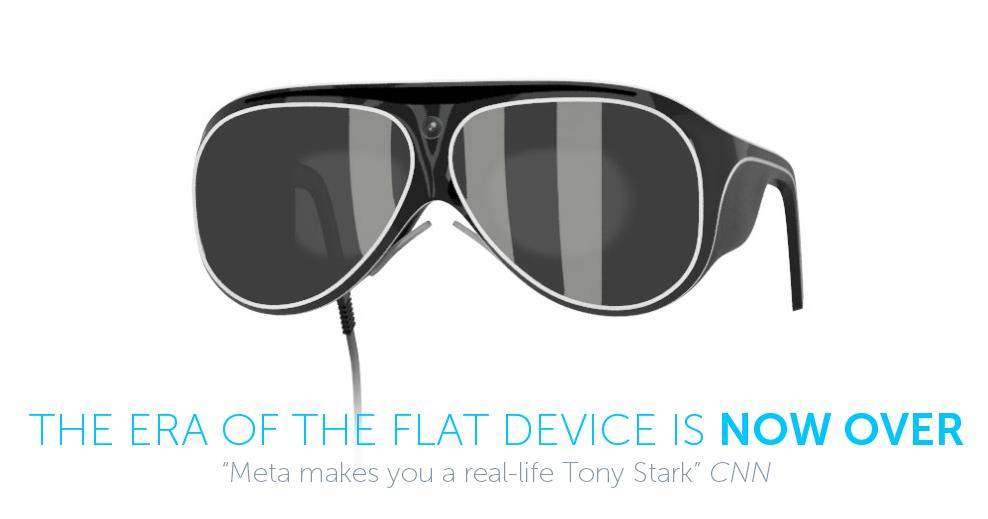 MetaPro — новые очки дополненной реальности