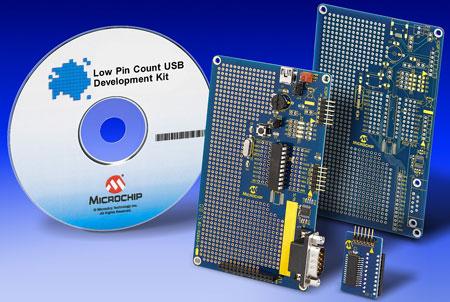 Microchip выпускает 15 восьмиразрядных микроконтроллеров PIC с поддержкой USB 2.0