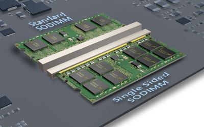 Специалисты Micron Technology и TE Connectivity смогли на треть уменьшить толщину модулей DDR3 SODIMM