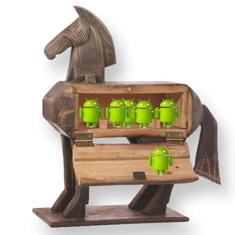 Жалобщики сравнили Android с троянским конем, поскольку Google предлагает эту ОС производителям устройств бесплатно