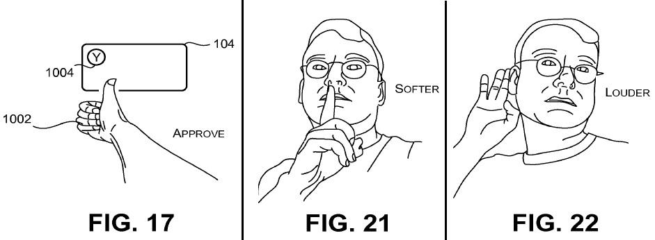 Microsoft патентует жесты для управления смартфоном в автомобиле