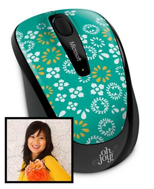 Microsoft Wireless Mobile Mouse 3500 - Джой Дингдилерт Чо (Joy Deangdeelert Cho)