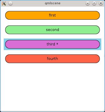 Model View в QML. Часть первая: Представления на основе готовых компонентов