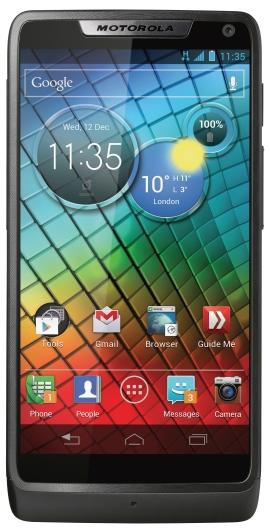 Motorola Mobility анонсировала смартфон Razr на базе Intel Atom