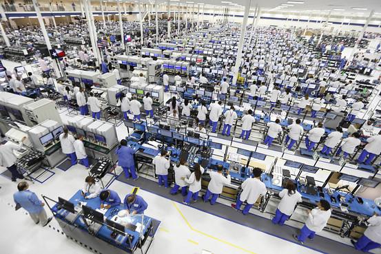 Motorola фабрика Техас