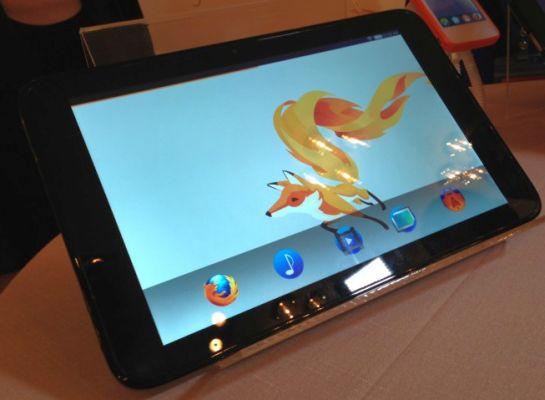 Mozilla и Foxconn представили первый планшет на основе Firefox OS