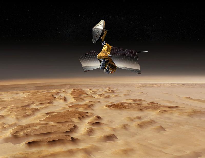 NASA двигает Марс в Россию