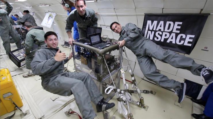 NASA отправляет 3D принтер на МКС