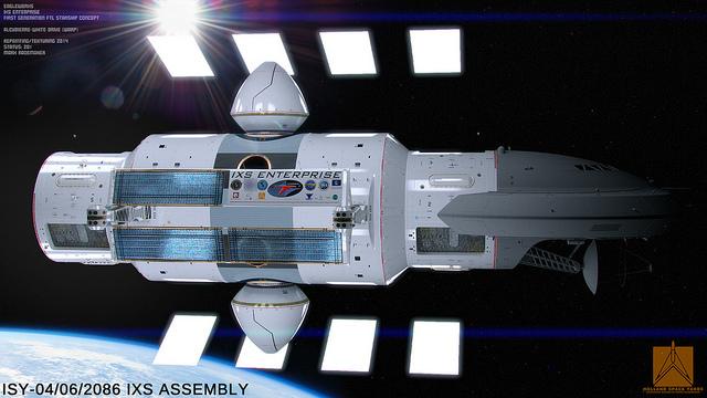 NASA представила концепт межзвёздного корабля