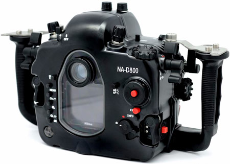 Nauticam анонсирует подводный бокс для Nikon D800