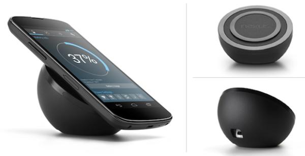 Nexus 4 беспроводная зарядка