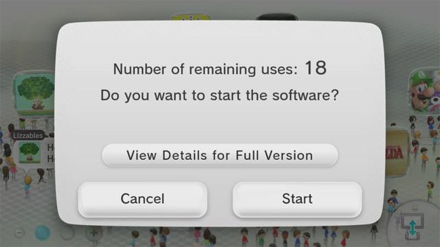 Nintendo ограничивает количество раз, сколько можно поиграть в демо версию игры
