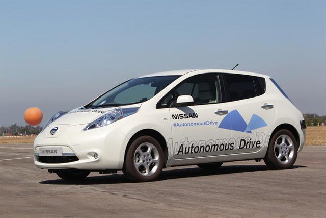 Nissan начнёт продажи беспилотных автомобилей в 2020 году