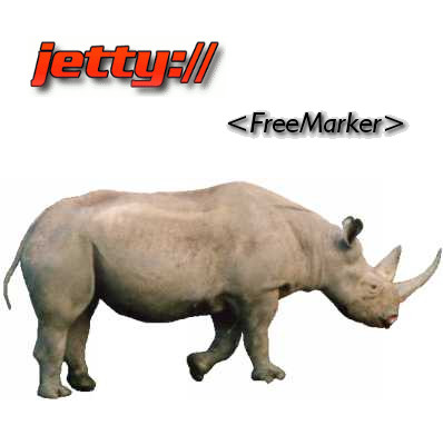 Node.js vs Java + Rhino + Jetty + FreeMarker