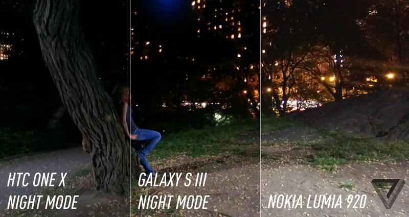Nokia Lumia 920: реальные фотографии
