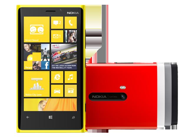Nokia Lumia 920: спасение в снегах