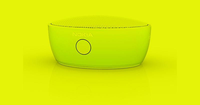 Nokia MD 12: Bluetooth колонка, превращающая любую поверхность в аудиосистему