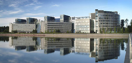 Nokia продает свою штаб-квартиру в Финляндии