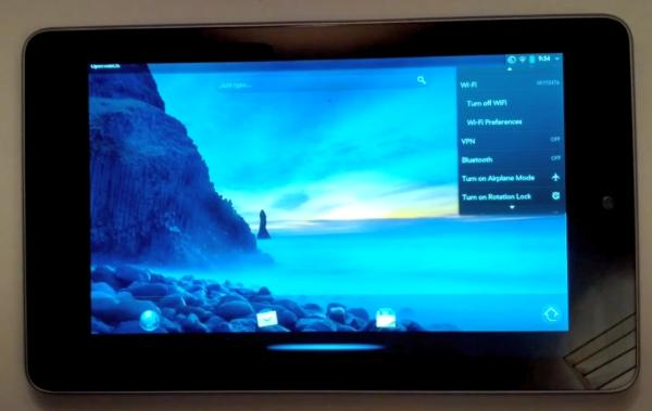Open webOS портировали на Nexus 7