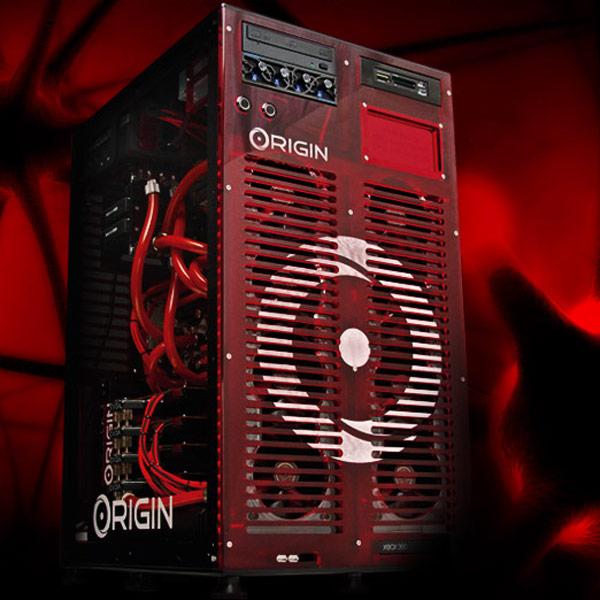 В конфигурацию некоторых систем Origin PC может входить до четырех 3D-карт NVIDIA GeForce GTX Titan