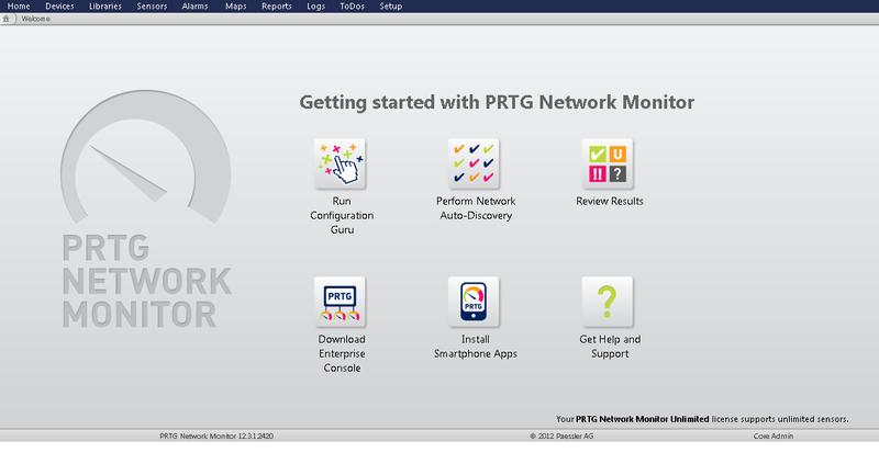 PRTG: Система мониторинга и некоторые полезные советы