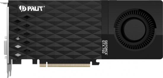 Одновременно представлена модель Palit GeForce GTX 760