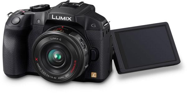 Беззеркальная камера Lumix G6 рассчитана на сменные объективы системы Micro Four Thirds
