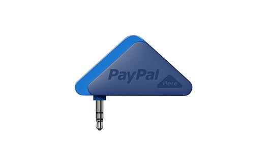 PayPal выпустил мобильный терминал PayPal Here