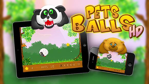 Pets Balls — весёлые зверята