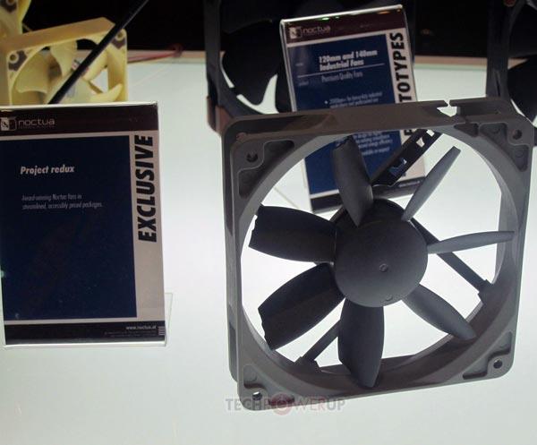 Первые модели Project Redux, включая NF-A14, S12A, A6 и A4, были показаны на выставке Computex 2013