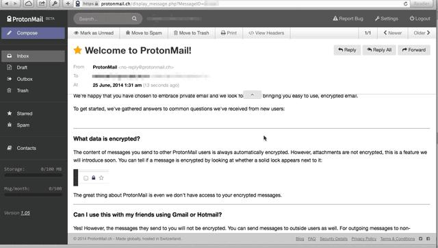 ProtonMail или что же это на самом деле?