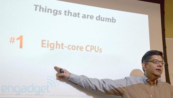 В компании Qualcomm отрицательно относятся к наращиванию числа ядер в мобильных процессорах