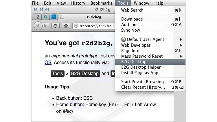 R2D2B2G — запуск Firefox OS на своем компьютере