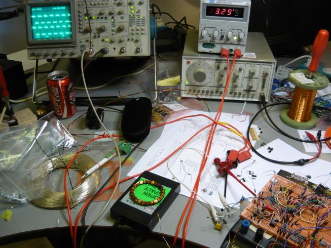 RFID метка на простой логике
