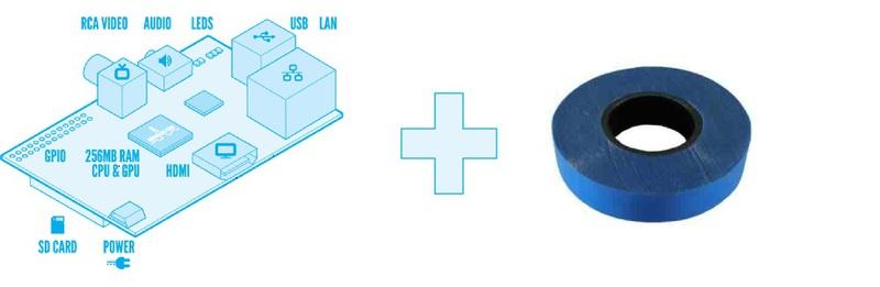 Raspberry Pi и Синяя Изолента