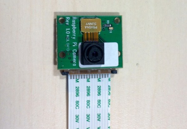 Raspberry Pi модуль камеры