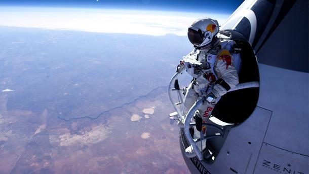 Red Bull Stratos, прямая трансляция: дубль 2