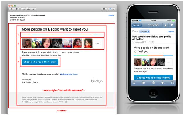 Responsive Email Design, или Как прочитать письмо на холодильнике