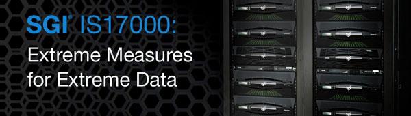 Максимальный объем SGI InfiniteStorage 17000 — 6,72 ПБ