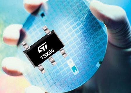 Операционные усилители TSX561, TSX562 и TSX564 рассчитаны на напряжение питания от 3 до 16 В