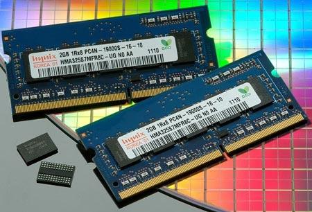 Микросхемы и модули памяти DDR4 производства Hynix