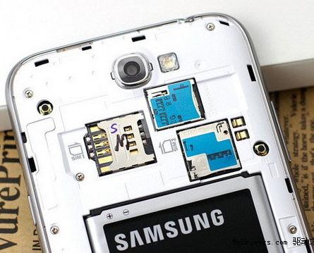 Samsung Galaxy Note II для китайского рынка: в наличии два слота для SIM-карт