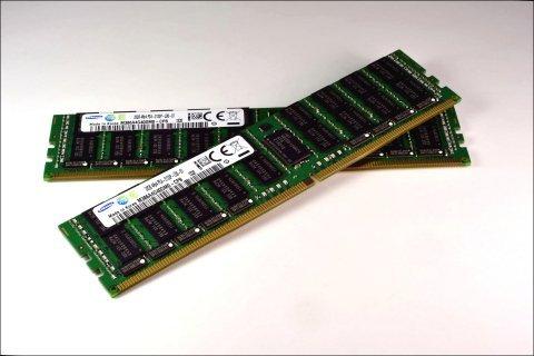 В модулях Samsung DDR4 объемом 32 ГБ используются микросхемы, изготовленные по нормам 20-нанометрового класса