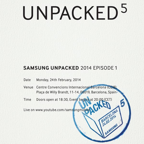 Мероприятие Unpacked 5 в Барселоне состоится 24 февраля