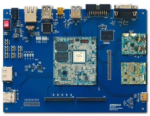 Samsung предлагает разработчикам плату Arndale на двухъядерном процессоре Exynos 5 Dual (ARM Cortex-A15)